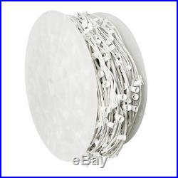 1000′ C7 Commercial Socket Spool 6 Spacing White Wire