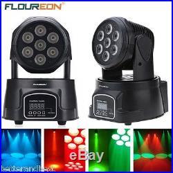 100W RGBW Stage Light LED Spot Moving Head Lights DMX512 Disco DJ Party Lighting