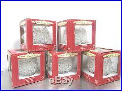 100 Light 6 Globe Ball Decoration Clear White Christmas Wedding Ornament Decor