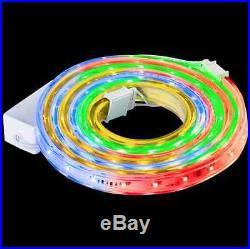 108-Light LED Multi Color Holiday Ribbon Christmas Lights Outdoor Decor Bright