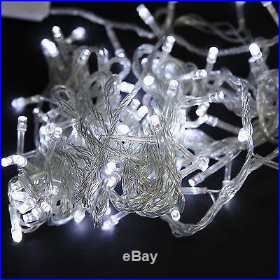 10M 100 LED String Lights Twinkle Fairy Light Christmas Wedding Lights w/ MODES
