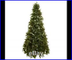 10ft PRE LIT ARTIFICIAL DELUXE CHRISTMAS TREE 305cm SAVE 25%