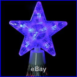 12′ Animated LED Lighted Multi Color SHOW CONE Tree Outdoor Christmas Yard Decor