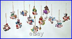 12 Days of Christmas Kissing Fish Ornaments Katherines Collection 28-530542