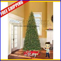 12' Foot Williams Pine Christmas Tree with 1100 Clear Lights Xmas Holiday Time