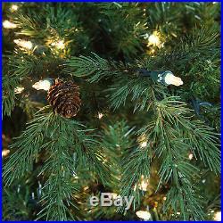 12′ Full Hunter Tree Clear Lights holiday artificial christmas Xmas green tree