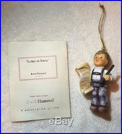 12 Original Grobel Studio Hummel Christmas Tree Decorations Xmas Figure Ornament