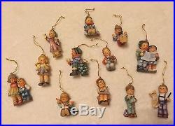 12 Original geobel Berta Hummel Christmas Tree Decorations Xmas Figure Ornament