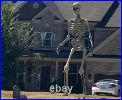12 ft. Giant-Sized Skeleton with LifeEyes Home Depot New In Box! (Never Opened)