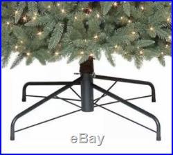 12 ft Pre-Lit Williams Slim Quick Set Pine Artificial Christmas Tree