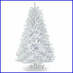 12ft White Artificial Christmas Tree Metal Stand Traditional Bushy Xmas Tree