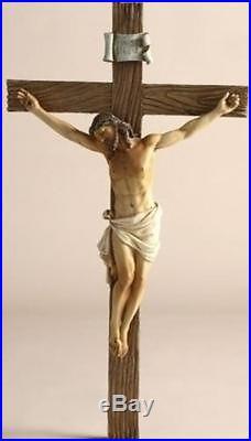 13.75 Inches High Jesus on the Cross-crucifix By Joseph's Studio 11359