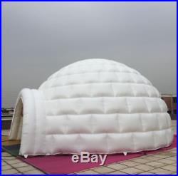 13ft (4M) Inflatable Promotion Advertising Events Igloo Dome Tent 0.4PVC /Bl uk