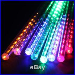 144 LED Meteor Shower Rain LED Tube String Christmas Xmas Light Decoration Tree