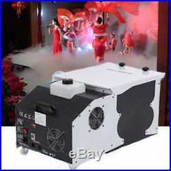 1500W Low Lying Smoke Fog Machine Dry Ice Hanging Fog Effect DMX Stage Party US