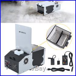 1500W Low Lying Smoke Fog Machine Dry Ice Hanging Fog Stage Effect DMX with Remote