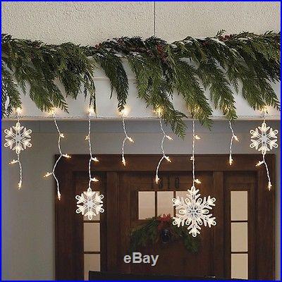 150 Count Icicle And Snowflake Lights Christmas Decor World