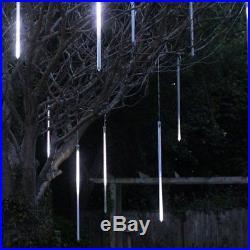 150 LED Digital Snow Shower Tube Lights Christmas Xmas Decoration Light 5 TUBES