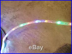 150' Led Rope Lights Multi Color 3/8 Indoor/Outdoor
