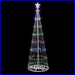 152 LED Light Show Tree Set Multi-Colored (4' x 24)