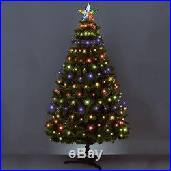 160 Led Multi Colour/white Christmas Xmas Tree Net Lights With Star Tree Topper