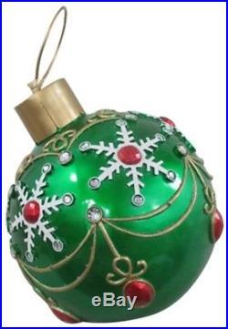 17 GRN FO LED Ornament, No 17094XT, Reson Enterprises Ltd