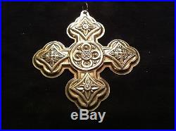 1971 Sterling Silver Reed & Barton Annual Christmas Cross Ornament