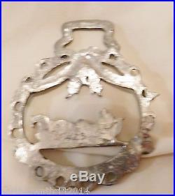 1990 Horse & Sleigh #423 Pewter Loveland Colorado Christmas Ornament