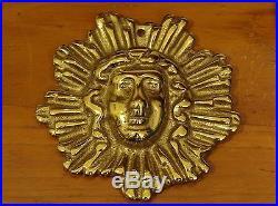 1990 Virginia Metalcrafters Sun King Brass Newport Collection Ornament