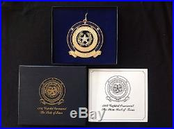 1997 Texas Capitol Annual Christmas Ornament In Box with Paperwork FREE SHIPPING