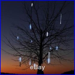 19.7 5-Tube LED Snowfall Meteor Shower Cascading Raindrop Light Set, White