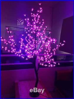 1.2m/4ft 360 LEDs Cherry Blossom Tree Light Christmas wedding Patio Outdoor deco