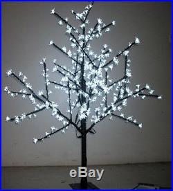 1.5M height LED Cherry Blossom Tree Outdoor Wedding Garden Holiday Light