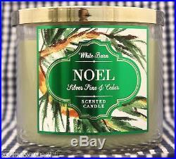1 Bath & Body Works NOEL SILVER PINE & CEDAR 3-Wick Scented 14.5 oz Candle