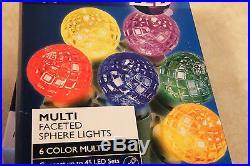 1 Philips 60ct Multi LED Sphere String Christmas Wedding RV Lights