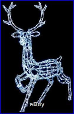 1m LED Acrylic Reindeer Christmas Decoration PREMIER