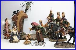 2003 The Bombay Company Christmas Nativity Scene RARE Treasured Craftsmanship