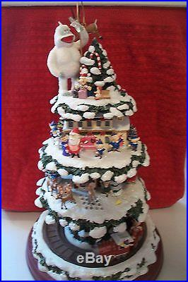 2007 Retired RUDOLPH'S CHRISTMAS TOWN EXPRESS by BRADFORD Editions