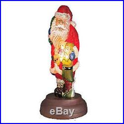 2015 Old World Christmas Santa's Bright-eyed Buddy Light