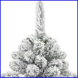 2019 Quality Christmas tree snow tips flocked 6ft (Almost Gone!)