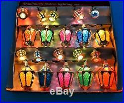 20 Pifco London Lights Christmas Fairy Lanterns Vintage Screw Bulbs Boxed