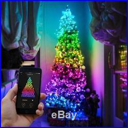 22.5m Smart App Controlled Christmas Tree LED Lights Garden Outdoor Indoor