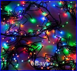240 / 480 / 720 Multi Colour Led Cluster Lights Super Bright Xmas Christmas Bnib