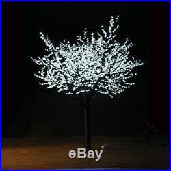 2.5M/8.3ft White LED Cherry Blossom Tree Wedding Garden Holiday Light 1728 Pcs