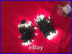 2 BOXES 100 HOLIDAY TIME LIGHTS INDOOR OUTDOOR PATIO WEDDING BACKYARD CHRISTMAS