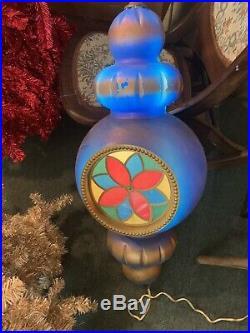 2 Blow Molds Beco Original 31 Hanging Ornament Christmas