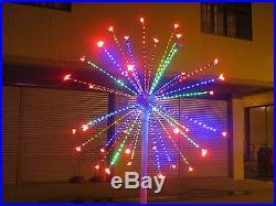2m/6.6FT LED Fireworks Light Wedding Garden party Christmas Light 4 Clours