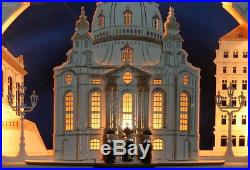 3D Schwibbogen excl. 52cm Frauenkirche Dresden Kurrende Erzgebirge Lichterbogen