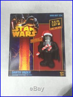 3.5 Ft Star Wars Darth Vader Lighted Airblown Inflatable Christmas