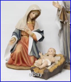 3 Piece Nativity Figurine Set Christmas Decor Outdoor Yard Decoration Home Jesus